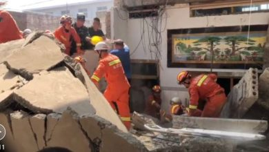 Photo of 29 maut restoran dua tingkat di China runtuh