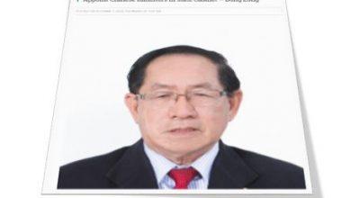 Photo of Dong Zong pula gesa lantik menteri Cina dalam Kabinet Sabah