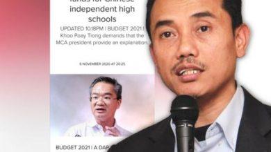 Photo of DAP tak sensitif kesusahan rakyat, sibuk tanya peruntukan vernakular