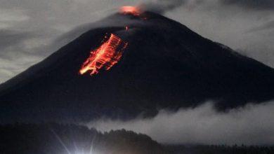 Photo of 500 penduduk terjejas gunung berapi Semeru meletus