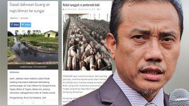 Photo of Sungai tercemar: Tauke kilang, penternak ladang babi kebal undang-undang?
